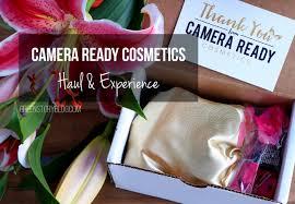 camera ready cosmetics haul