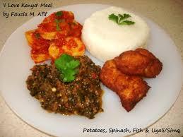 My 'I Love Kenya' Meal ♥ - Fauzia's Kitchen Fun