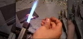 fumed implosion glass pendant