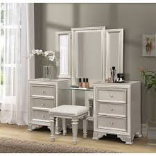 tiffany solid wood vanity set