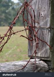 Fence Post Barbed Wire Keywords Barb Stock Photo Edit Now 1181577