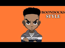 how to cartoon yourself boondocks