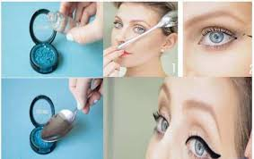 spoon as a makeup instrument