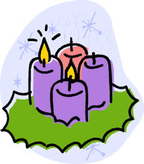 """Image result for advent wreath with second candle light clip art"""""""