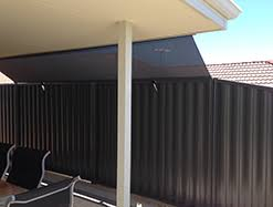 Roof To Fence Blinds Perth