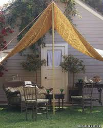 A Slice Of Shade Creating Canopies Martha Stewart