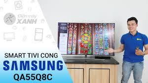 Dòng Smart Tivi QLED Samsung 4K Q8C (55 inch, 65 inch, 75 inch ...