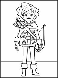Kleurplaat Robin Hood