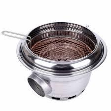 Hàn quốc nướng bếp than củi nướng máy thấp hơn khói carbon thương mại lò  nướng Nhật Bản BBQ thép không gỉ than nướng - Aliexpress