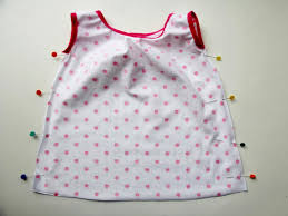 sew a knit baby dress with free pattern