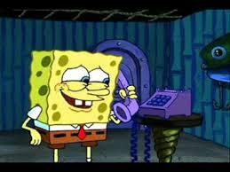 you spongebob can t write an