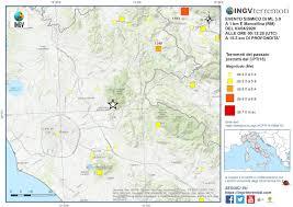 Terremoto a Marcellina vicino a Roma