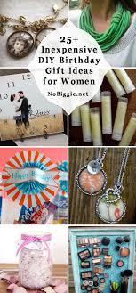 25 inexpensive diy birthday gift ideas