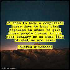 alfred hitchcock we seem to have a quote chimps