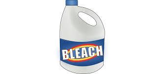 taking a bleach bath for skin issues
