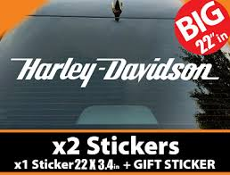 New Harley Davidson Motorcycle Ryd Free Decal Car Truck Window Sticker 99308 Stickers Decals Collectibles Motorcycles Collectibles