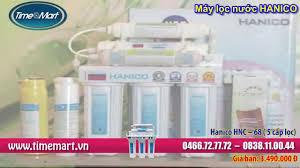 Máy lọc nước gia đình Hanico , Nano Geyser nhập khẩu của Nga - YouTube