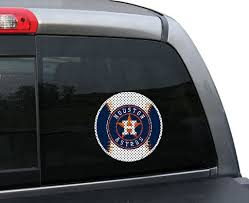 Houston Astros Official Small Window Film Fremont Die Retail Store