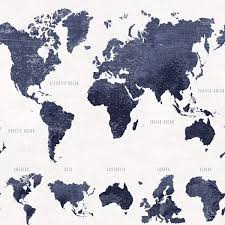 boq dark blue world map wallpaper