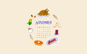 wallpaper november background clipart