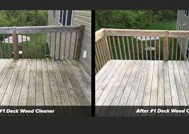1 Deck Wood Cleaner Safely Cleans Restores Wood Surfaces