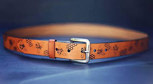 com custom leather belt