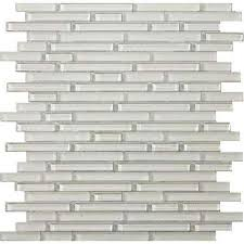 glass clear mosaic tile tile