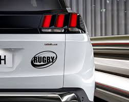 Rugby Decal Etsy