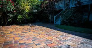 pavers over asphalt or concrete paving