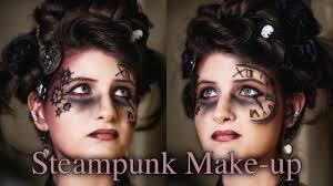 steunk inspired makeup you