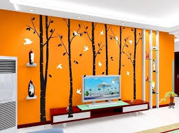 Large Tree Wall Decals Vinyl Wall Art Wall Stickers Birch Tree Wall Decal Tree Wall Decal Art Wall Kids