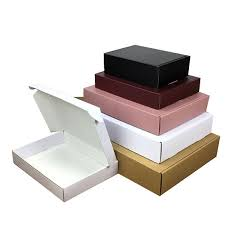 corrugated packaging gift white paper