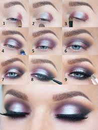 step by step eye makeup instructions