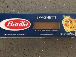 clic blue box cut spaghetti pasta