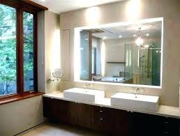 awesome bathroom mirrors lights behind