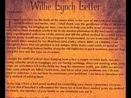 the willie lynch letter a must read