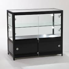 glass counter showcase display cabinet