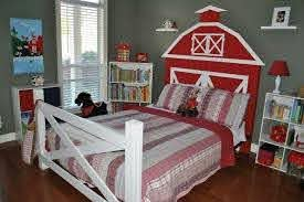 Farm Bedroom Kids Room Bed Boys Farm Bedroom Room