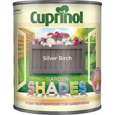 Cuprinol Garden Shades Silver Birch 2 5l Homebase