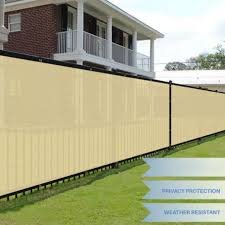 3ft Height Privacy Screen Fence Screen Wind Screen For Balcony Backyard Deck Patio Fence Porch Beige Lazada Ph