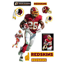 Fathead Adrian Peterson Washington Redskins 12 Pack Life Size Removable Wall Decal