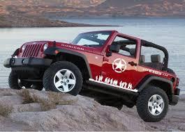 Ginovo Us Army Car Decal Sticker For Jeep Grand Cherokee Compass Wrangler Patriot Suv Crv White Hoamaomeornonono