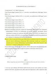 Maturità on line e tutti ammessi: ecco il testo del decreto scuola ...