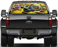 Lego Batman Movie Rear Window Decal Graphic Sticker Car Truck Suv Van 604 Ebay