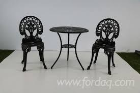cast aluminum outdoor furniture dining