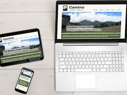 website portfolio examples camino coffee roasters by amplify