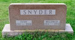 Ivan Snyder (1911-2001) - Find A Grave Memorial