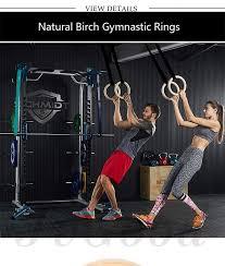 jvgood wood gymnastic rings olympic