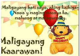 birthday message for my friend tagalog best happy birthday wishes