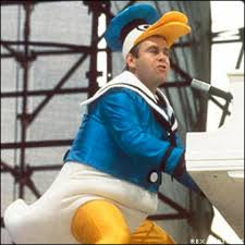 Image result for images of elton john in duck suit